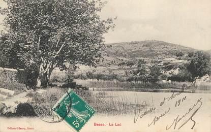 "CPA FRANCE 83 ""Besse, le Lac"""