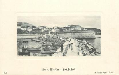 """CPA FRANCE 83 """"Toulon Mourillon, Fort Saint Louis"""" / Editeur GEISER"""