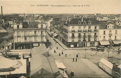 """CPA FRANCE 44 """"Saint Nazaire, côté rue de la Paix"""""""