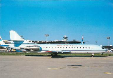 """CPSM AVIATION """" Caravelle 10 B Paris-Orly"""""""