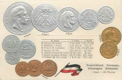 """CPA ARGENT MONNAIE """"Allemagne """"/ Carte en relief"""