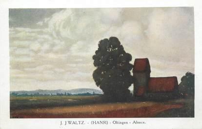 """CPA ILLUSTRATEUR HANSI """" Oltingen en Alsace"""""""