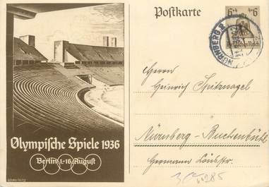 "CPSM Allemagne ""Les Jeux Olympiques, Stade"""