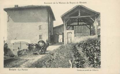 """/ CPA FRANCE 38 """"Souvenir de la maison de Repos de Biviers"""""""