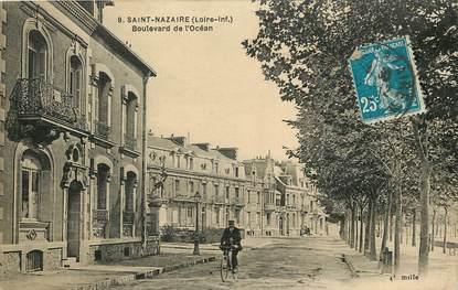 """CPA FRANCE 44 """"Saint Nazaire, Bld de l'Océan"""""""