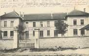 """38 Isere CPA FRANCE 38 """"Porcieu, Hôtel de Ville et groupe scolaire"""""""