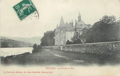 "CPA FRANCE 38 ""Vertrieu, Le Château du Bac"""