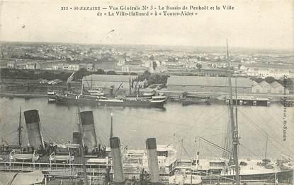 """CPA FRANCE 44 """"Saint Nazaire, le bassin de Penhoët"""""""