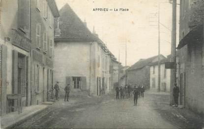 """CPA FRANCE 38 """"Apprieu, La Place"""""""