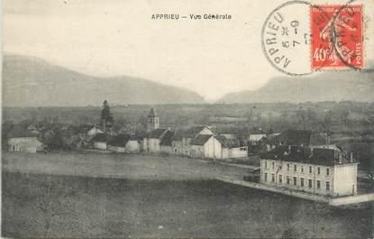 """CPA FRANCE 38 """"Apprieu, Vue générale"""""""