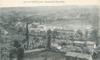 """CPA FRANCE 38 """"Apprieu, Hameau de Robertière"""""""
