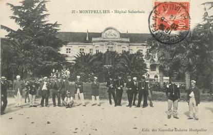 """CPA FRANCE 34 """"Montpellier, Hopital Suburbain"""""""