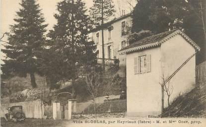 """CPA FRANCE 38 """" Oytier St Oblas, La villa de Mr et Mme Odet"""""""