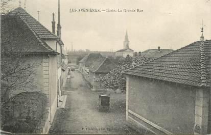 "CPA FRANCE 38 "" Les Avenières, Buvin, La grande rue"""