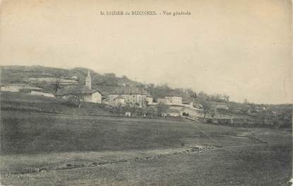 """CPA FRANCE 38 """"St Didier de Bizonnes, Vue générale"""""""
