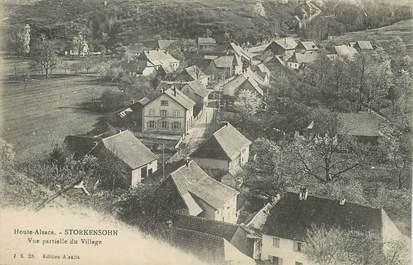 """/ CPA FRANCE 68 """"Storkenshon, vue partielle du village"""""""