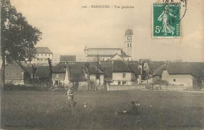 """CPA FRANCE 38 """"Brangues, Vue générale"""""""