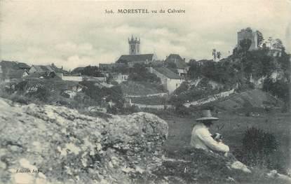 "CPA FRANCE 38 "" Morestel, Vu du Calvaire"""