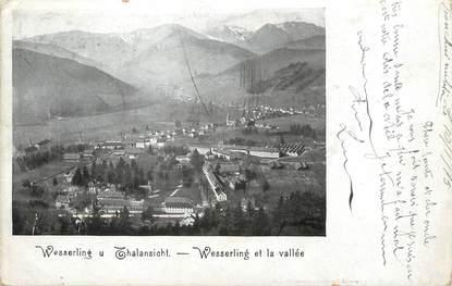"/ CPA FRANCE 68 ""Wesserling et la vallée"""