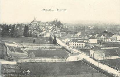 "CPA FRANCE 38 "" Morestel, Panorama"""