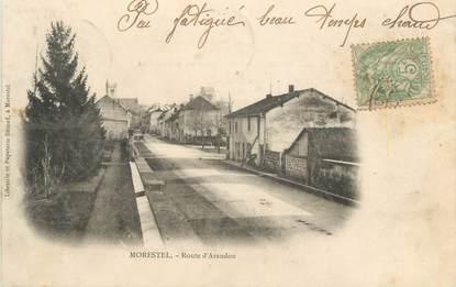 """CPA FRANCE 38 """" Morestel, Route d'Arandon"""""""