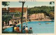 """38 Isere CPA FRANCE 38 """" Morestel, Roche Plage"""""""