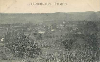 "CPA FRANCE 38 "" Sermerieu, Vue générale"""