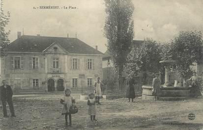 """CPA FRANCE 38 """" Sermerieu, La Place"""""""