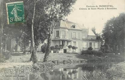 """CPA FRANCE 38 """" Sermerieu, Château de St Martin"""""""