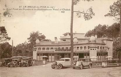 """CPA FRANCE 44 """"La Baule, Rond point des Dryades"""""""