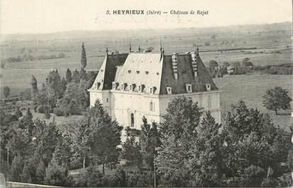 "CPA FRANCE 38 "" Heyrieux, Château de Rajat"""