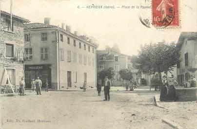 """CPA FRANCE 38 """" Heyrieux, Place de la Paume"""""""