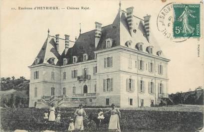 """CPA FRANCE 38 """" Heyrieux, Le Château de Rajat"""""""