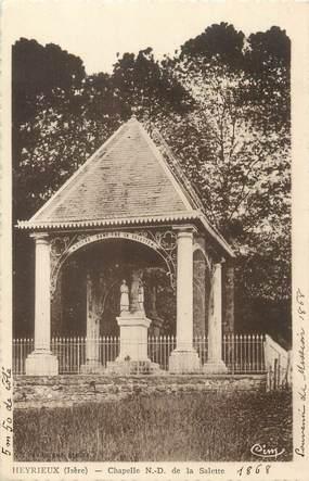 """CPA FRANCE 38 """" Heyrieux, Chapelle Notre Dame de la Salette"""""""