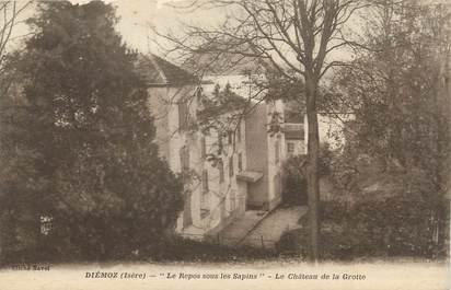 """CPA FRANCE 38 """" Diémoz, Le Château de la Grotte"""""""