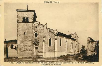 """CPA FRANCE 38 """" Diémoz, L'église"""""""