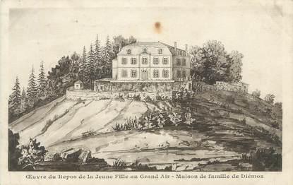 """CPA FRANCE 38 """" Diémoz, Oeuvre du Repos de la Jeune Fille au Grand Air, Maison de Famille"""""""