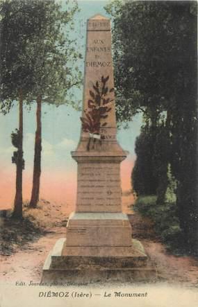 """CPA FRANCE 38 """" Diémoz, Le monument aux morts"""""""