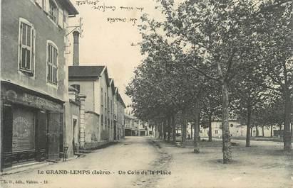 """CPA FRANCE 38 """" Le Grand Lemps, Un coin de la place"""""""