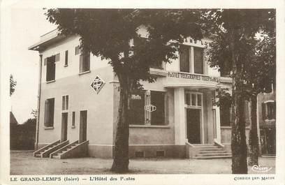 """CPA FRANCE 38 """" Le Grand Lemps, L'Hôtel des Postes"""""""