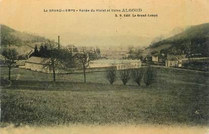 """CPA FRANCE 38 """" Le Grand Lemps, Usine Algoud"""""""