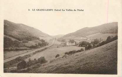 """CPA FRANCE 38 """" Le Grand Lemps, La Vallée du Violet"""""""