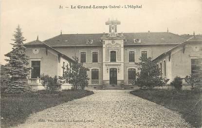 """CPA FRANCE 38 """" Le Grand Lemps, L'Hôpital"""""""