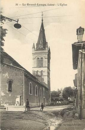 """CPA FRANCE 38 """" Le Grand Lemps, L'église"""""""