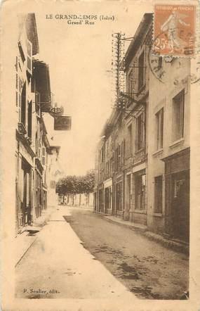 "CPA FRANCE 38 "" Le Grand Lemps, Grande Rue"""
