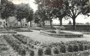 """38 Isere CPSM FRANCE 38 """" Le Grand Lemps, Le jardin de ville"""""""