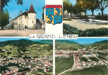 """CPSM FRANCE 38 """" Le Grand Lemps, Vues"""""""
