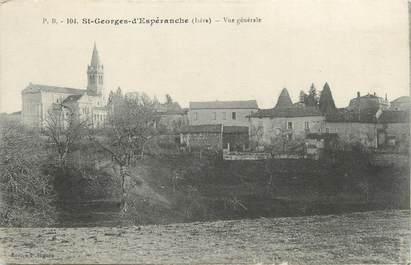 """CPA FRANCE 38 """" St Georges d'Espéranche, Vue générale"""""""