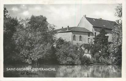 """CPSM FRANCE 38 """" St Georges d'Espéranche, Le château"""""""