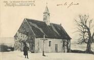 "68 Haut Rhin / CPA FRANCE 68 ""Ueberstrasse, la chapelle, guerre 1914-15"""